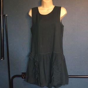 Theory sz 6 silk dress